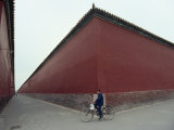 One of the Massive Walls in the Forbidden City, Beijing, China Photographic Print by James L. Stanfield