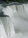 Bird Flies Past American Falls Photographic Print by James P. Blair