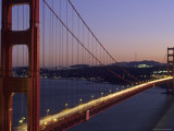 Golden Gate Bridge from Lime Point at Sunset Photographic Print by Rich Reid
