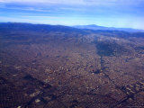 Aerial View of Mexico City Photographic Print by Raul Touzon