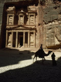 Pharaoh's Treasury, Petra, Jordan Photographic Print by James L. Stanfield