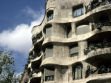 Gaudi Designed Apartment Building in Barcelona, Casa Mila, Barcelona, Spain, Europe Photographic Print by Stacy Gold