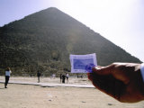 The Visitor Ticket and Great Pyramid of Cheops Also Called Khufu Photographic Print by Stephen St. John