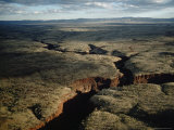 Deep Gorges of the Hamersley Range of the Pilbara Region Photographic Print by Sam Abell