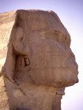 The Iconic Profile of the Legendary Statue of the Great Sphinx Photographic Print by Stephen St. John