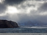 Glaciers in Spitsbergen, Norway Photographic Print
