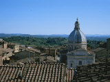 View Across Rooftops in Siena Photographic Print by Taylor S. Kennedy