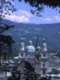 A View of Some of the Manew York Churches and Cathedrals of Salzburg, Salzburg, Austria Photographic Print by Taylor S. Kennedy