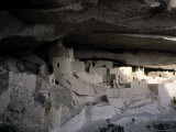 The Ruins of the Anasazi Cliff Dwelling of Mesa Verde, Colorado Photographic Print by Taylor S. Kennedy
