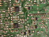 A Circuit Board Inside a CRT Monitor Photographic Print by Joel Sartore