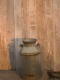 An Old Milk Can Stands by the Milking Barn the Historic Waveland Farm Photographic Print by Joel Sartore