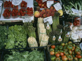 A Farmer's Market Selling Vegetables in Venice, Italy Photographic Print by Taylor S. Kennedy