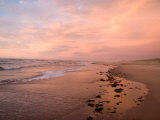 Sunset on the Beach on Prince Edward Island Photographic Print by Taylor S. Kennedy