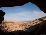 A View Through a Window into the Grand Staircase National Monument, Utah Photographic Print by Taylor S. Kennedy