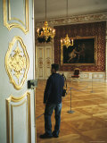 A View of the Interior of the Residenz Palace in Munich Photographic Print by Taylor S. Kennedy