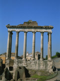 The Ruins of the Temple of Saturn in the Roman Forum Photographic Print by Taylor S. Kennedy