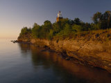 The Big Bay Point Lighthouse, Upper Peninsula, Michigan Photographic Print by Phil Schermeister