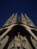 The Church of the Holy Family,Sagrada Familia in Barcelona, Spain Photographic Print by Taylor S. Kennedy