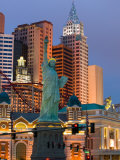 New York, New York Casino, Las Vegas, Nevada, USA Photographic Print by Walter Bibikow
