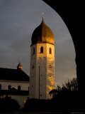 The Tradiotional Onion Dome Shape of the Tower at the Convent's Chapel, Fraueninsel, Germany Photographic Print by Taylor S. Kennedy