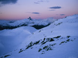 Black Tusk Visible from Whistler Mountain, Garibaldi Provincial Park Photographic Print by Taylor S. Kennedy