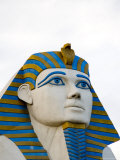 Egyptian Sculpture in Front of the Luxor Hotel and Casiono, Las Vegas, Nevada Photographic Print by Taylor S. Kennedy