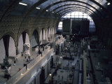 The Inside of the Old Trains Station That is Now a Museum, Paris, France Photographic Print by Taylor S. Kennedy
