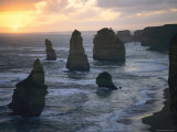 Seastacks and Surf, Port Campbell National Park, Victoria, Australia Photographic Print by Sam Abell