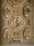 Detail of an Ornate Ceiling in St. Peter's Basilica Photographic Print by Taylor S. Kennedy