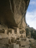 A View of Ancient Cliff Dwellings Photographic Print by Taylor S. Kennedy