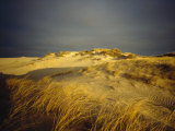 Sand Dunes and Beach Grass, Nauset Beach, Cape Cod National Seashore, Massachusetts Photographic Print by James P. Blair