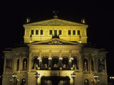 The Wonderful Opera House Rebuilt in Splendor in the Downtown Area, Frankfurt, Germany Photographic Print by Taylor S. Kennedy