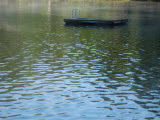A Floating Dock on a Lake Photographic Print by Stacy Gold