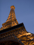 The Eieffel Tower Shines in an Evening Sky, Las Vegas, Nevada Photographic Print by Taylor S. Kennedy