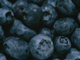 Close View of Fresh Blueberries Photographic Print by Taylor S. Kennedy