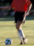 Soccer in Santa Fe, New Mexico, USA Photographic Print by Lee Kopfler