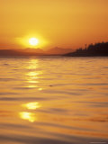 Sunset on the Puget Sound, Washington, USA Photographic Print