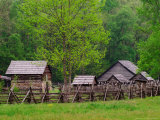 Pioneer Homestead, Great Smoky Mountains, North Carolina, USA Photographic Print by Adam Jones
