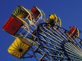Amusement Ride at the Washington State Fair in Puyallup, Washington, USA Photographic Print by John &amp; Lisa Merrill