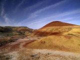 Painted Hills of John Day Fossil Beds, Oregon, USA Photographic Print by Gavriel Jecan