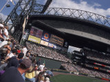 Safeco Field, Home of the Seattle Mariners Baseball Team, Seattle, Washington, USA Photographie par Connie Ricca
