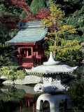 Point Defiance Park, Japanese Garden, Tacoma, Washington, USA Photographic Print by John & Lisa Merrill