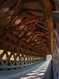 Covered Bridge, Woodstock, Vermont, USA Fotografisk trykk av Joe Restuccia III