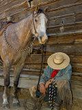 Ranch Living at The Ponderosa Ranch, Seneca, Oregon, USA Photographic Print by Joe Restuccia III