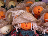 Fall Decorations, Arts and Crafts, Maggie Valley, North Carolina, USA Photographic Print