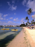 Beaches and Hotels along Tumon Bay, Guam, USA Photographie par Bill Bachmann