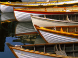 Boats at the Wooden Boat Center, Lake Union, Seattle, Washington, USA Photographic Print by Tom Haseltine