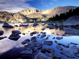 Bridger Wilderness, Wind River Range, Yellowstone National Park, Wyoming, USA Photographic Print by Gavriel Jecan