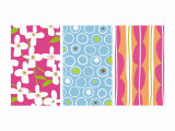 Bright Patterns Triptych Prints