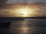 Picturesque Sunset on the Ocean Photographic Print